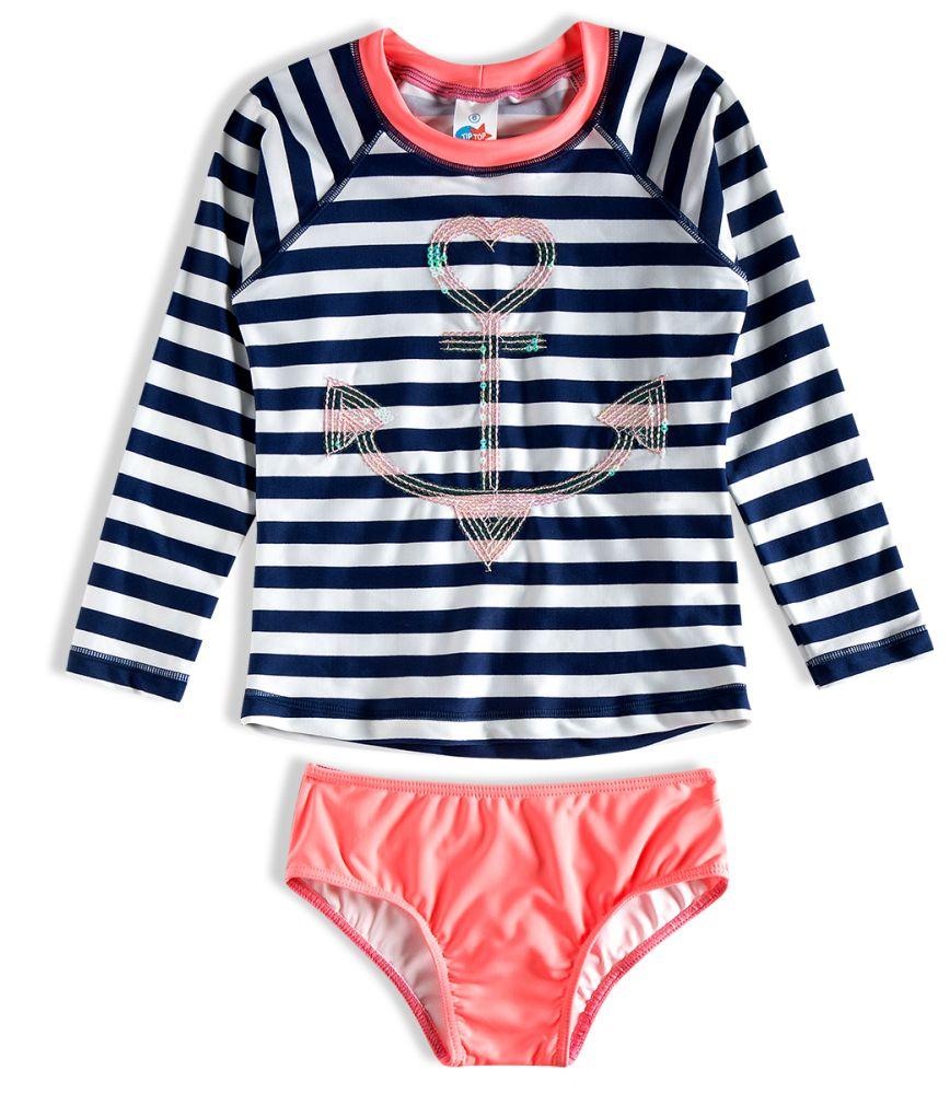 Conjunto Praia Infantil Navy Marinho Tip Top