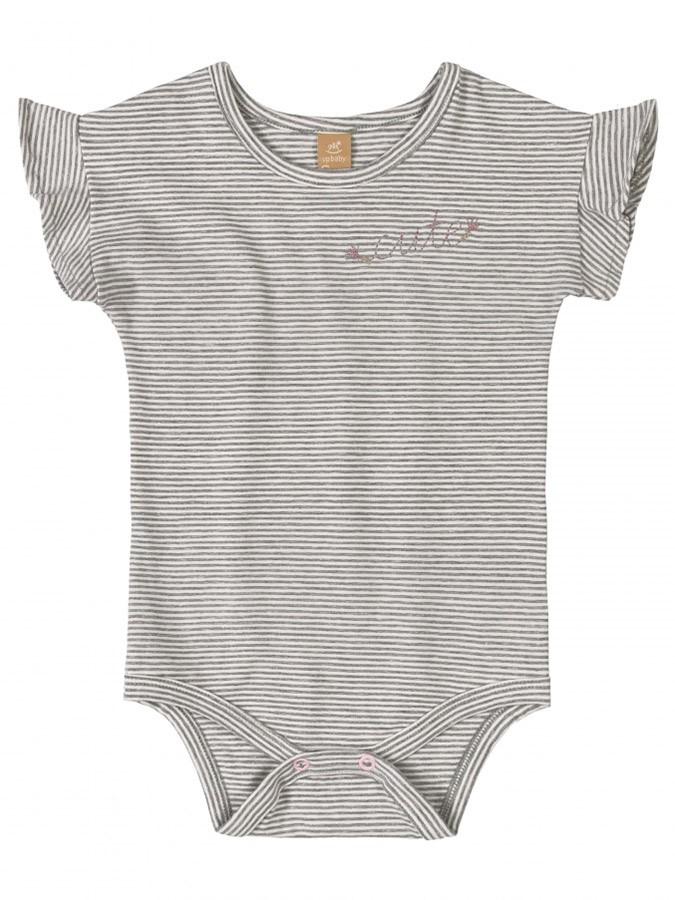 Kit Body e Macaquinho Cute Rosa Up Baby