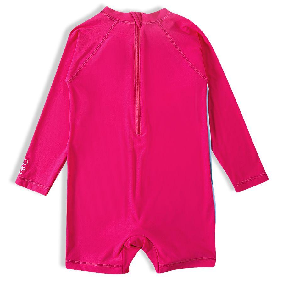 Macaquinho Praia Infantil Tucano Pink Tip Top
