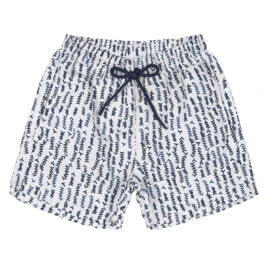 Shorts Infantil em Microfibra Branco Up Baby