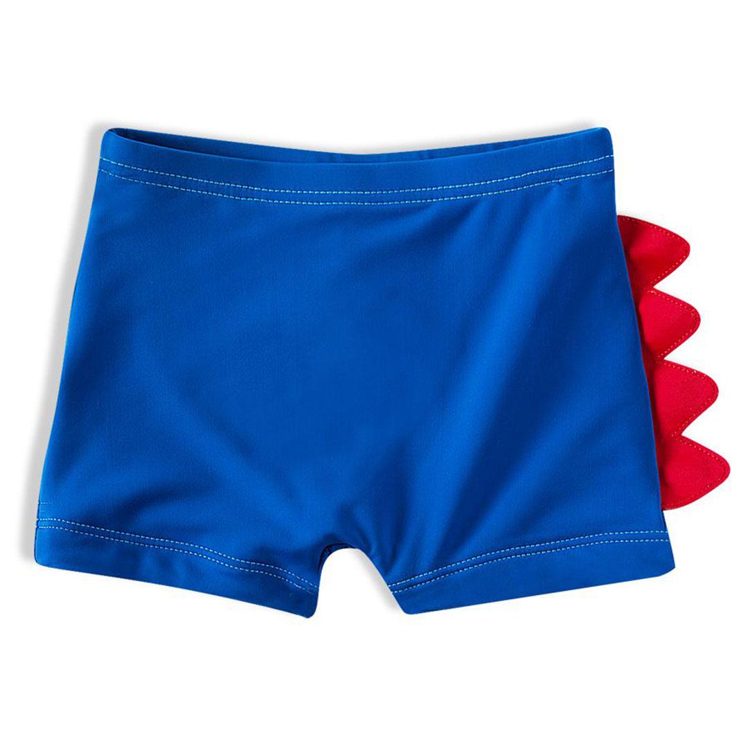 Shorts Praia Infantil Dino Azul Royal Tip Top