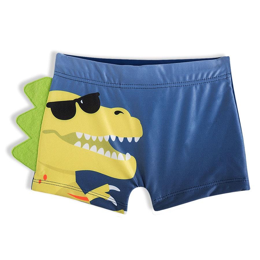 Shorts Praia Infantil Dino Marinho Tip Top