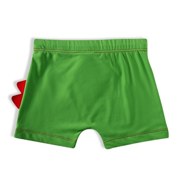 Shorts Praia Infantil Jacaré Verde Tip Top