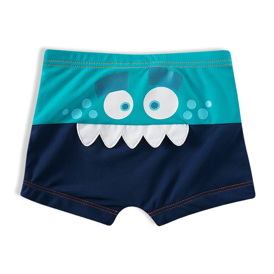 Shorts Praia Infantil Monstro Marinho Tip Top