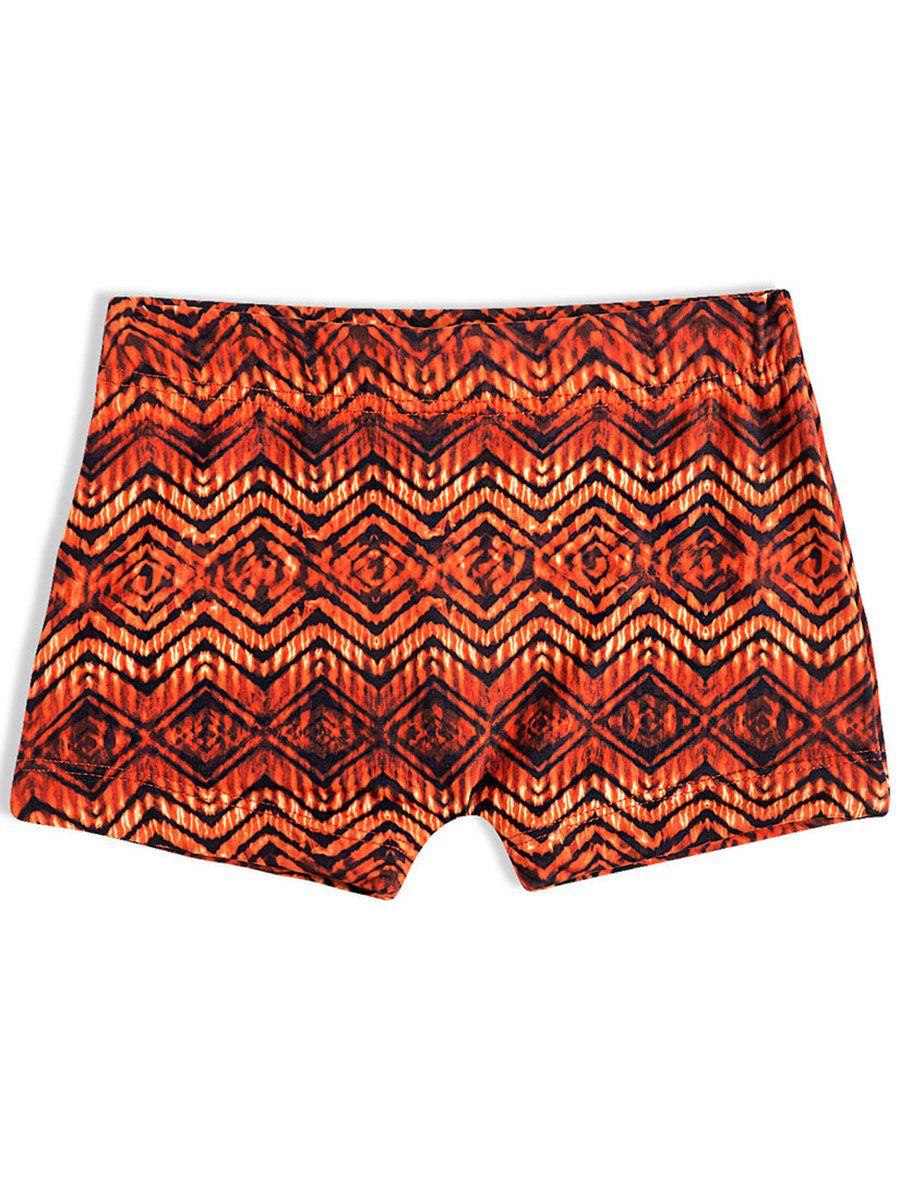 Shorts Praia Infantil Laranja Tip Top