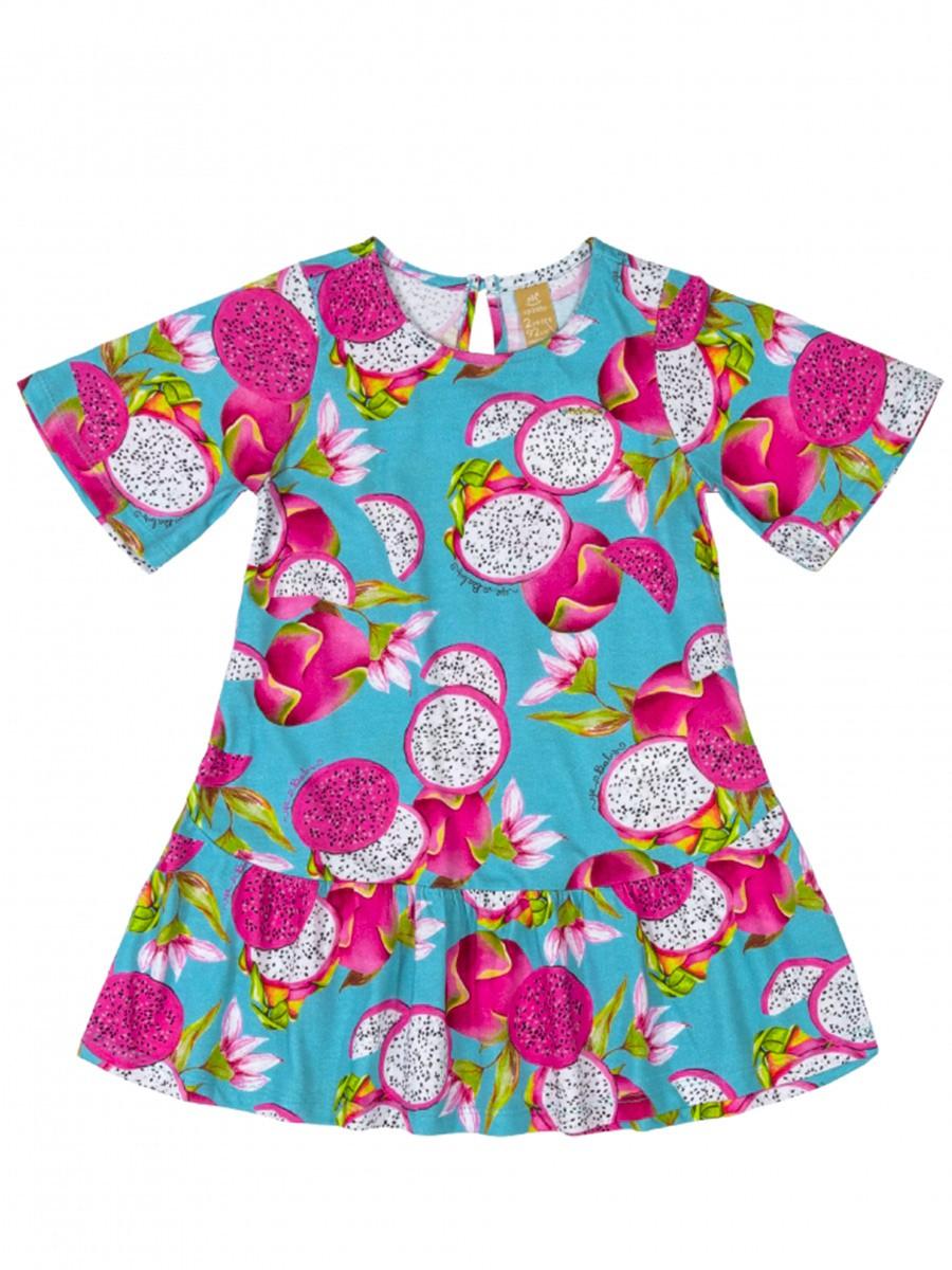 Vestido Infantil Pitaya Azul Up Baby