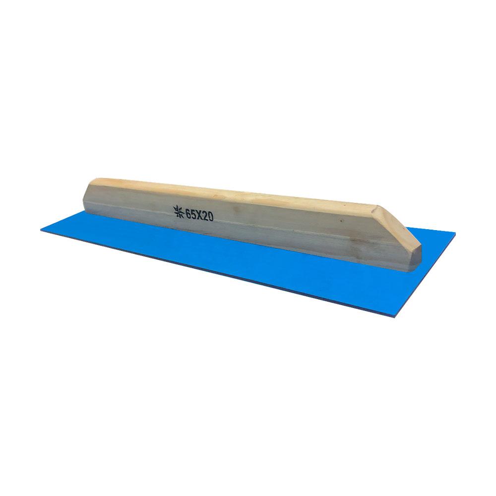 Desempenadeira 65x20cm acrilica azul