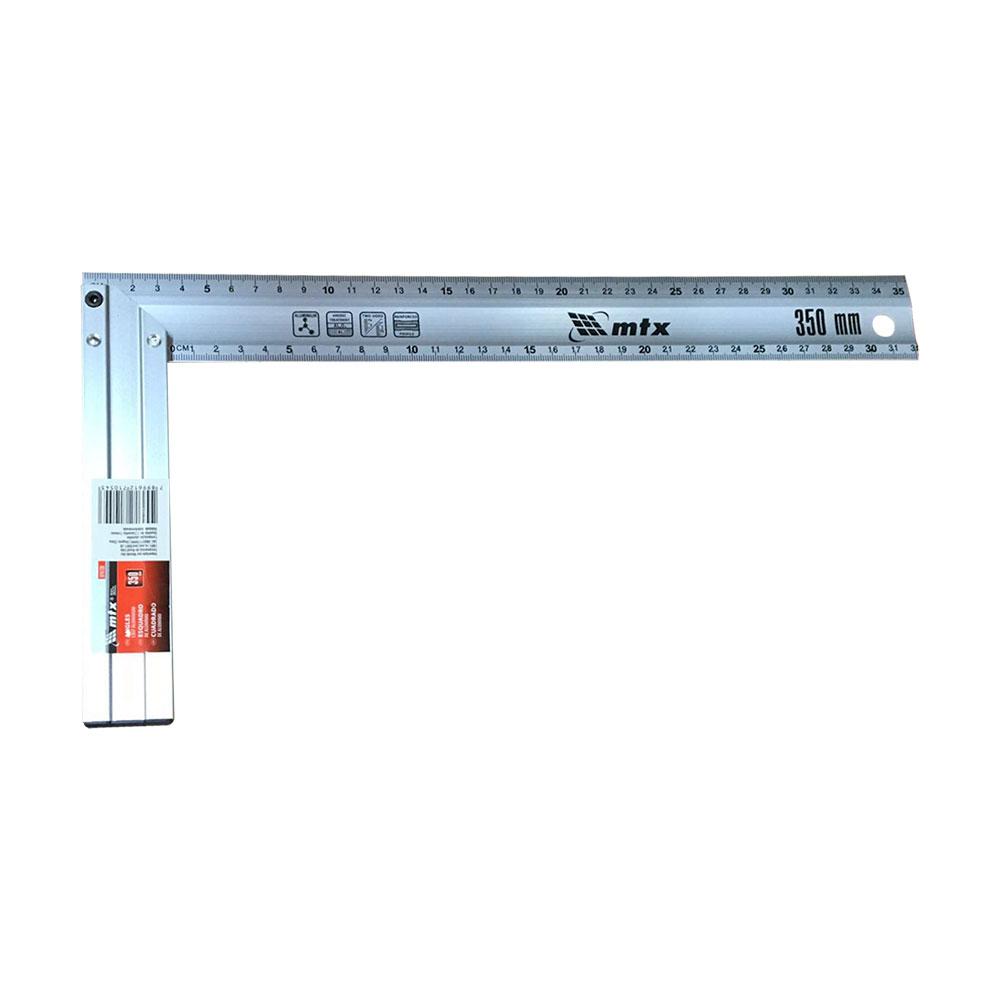 Esquadro aluminio 35cm - Mtx