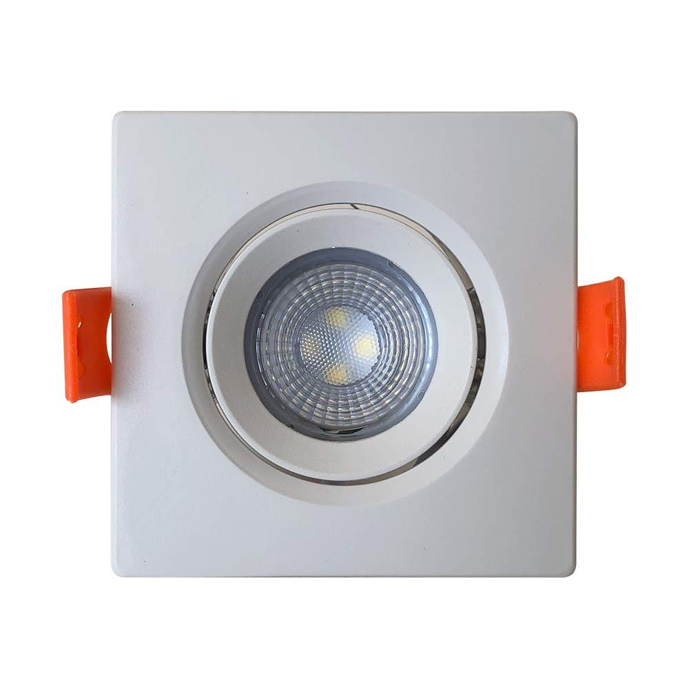 Spot led 3w 6500k quadrado - Llum