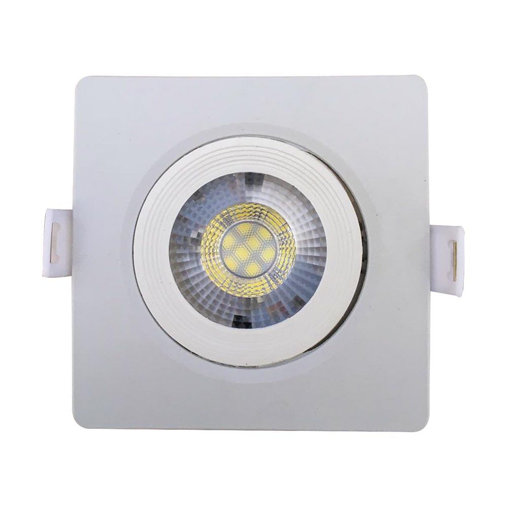 Spot led 7w 6500k quadrado - Llum