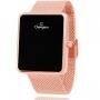Relógio Champion Feminino Digital Rose com Colar e Brincos CH40080P