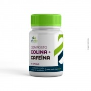 COMPOSTO COLINA + CAFEÍNA - 30 CÁPSULAS