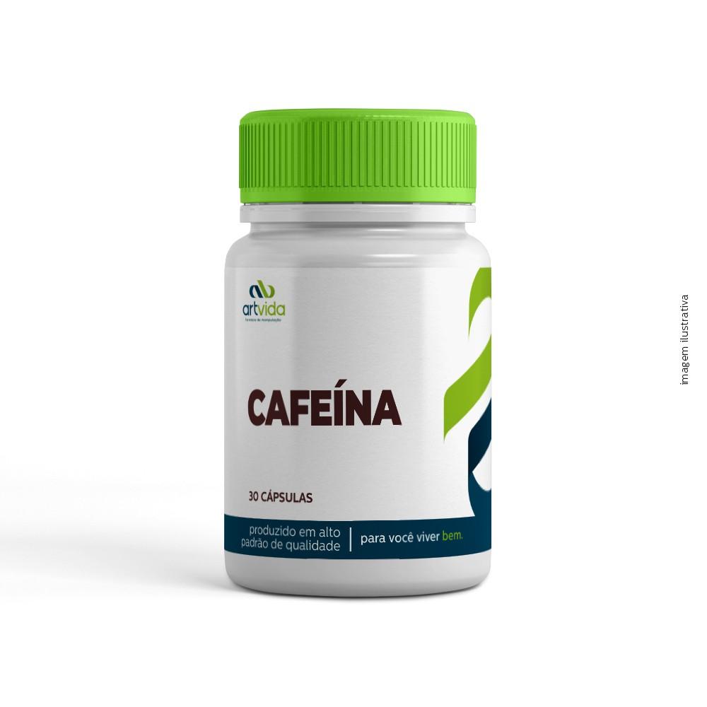 CAFEÍNA - 30 CÁPSULAS
