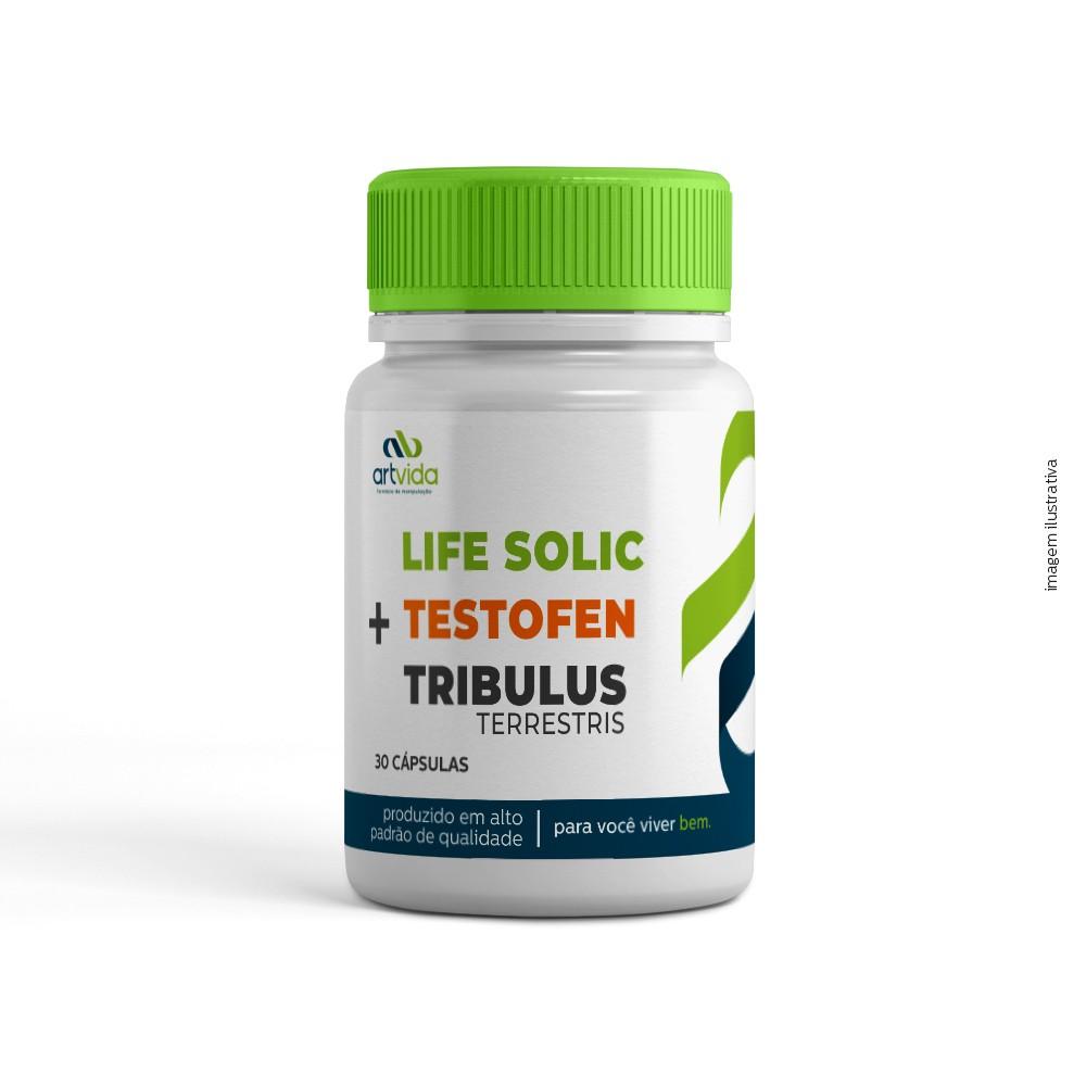 LIFE SOLIC + TESTOFEN + TRIBULLUS TERRESTRIS