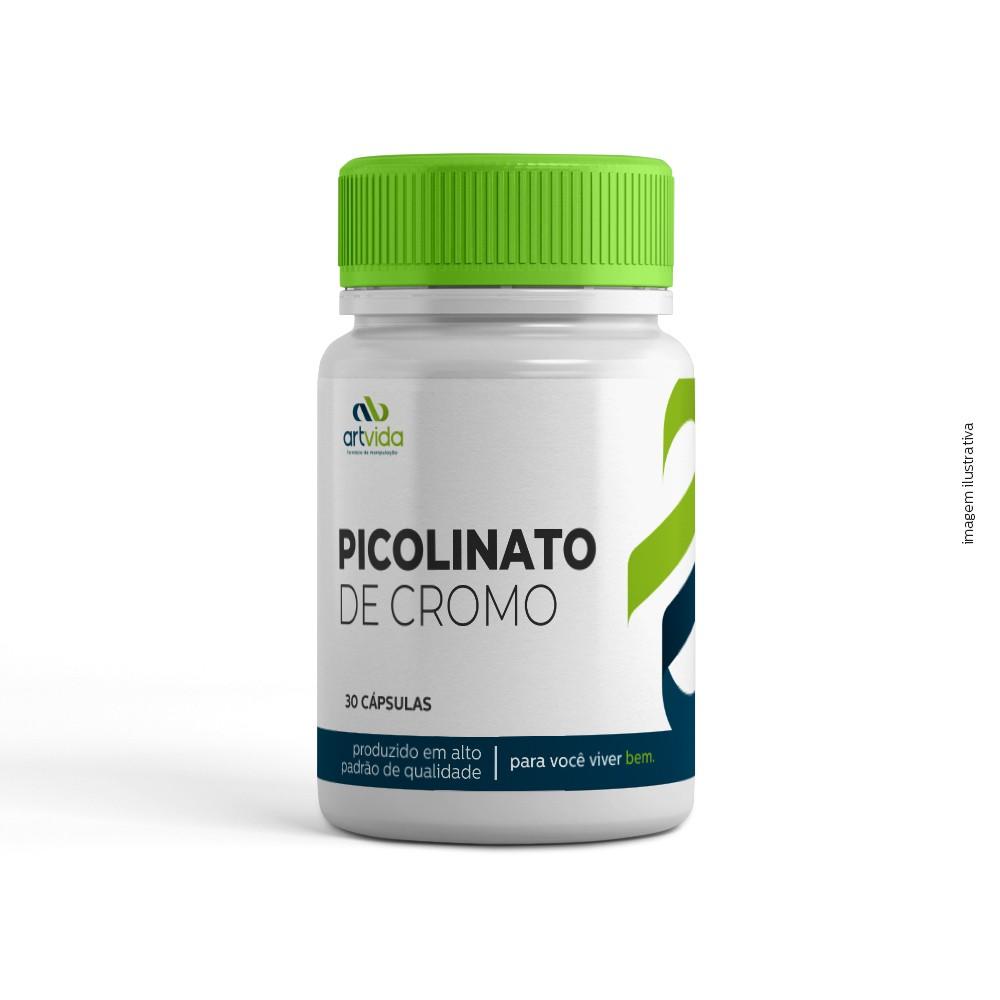 PICOLINATO DE CROMO - 30 CÁPSULAS