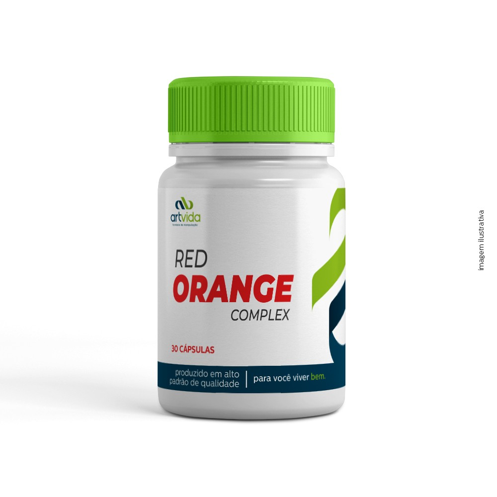 RED ORANGE COMPLEX - 30 CÁPSULAS