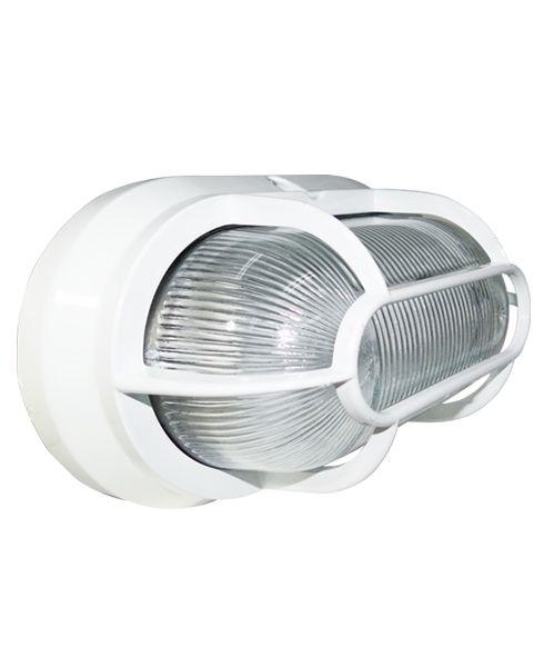 Luminária a prova de vapor alumínio / policarbonato