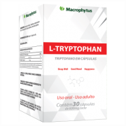 L-TRYPTOPHAN 500MG 30CPS (TRIPTOFANO) MACROPHYTUS