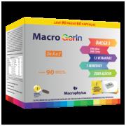 MACROGERIN 1000MG 90CPS A-Z COM OMEGA MACROPHYTUS