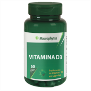 VITAMINA D3 SOFTGEL 250MG 60CPS MACROPHYTUS