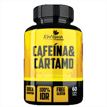 CAFEINA & CARTAMO 1000 MG 60 CAPSULAS
