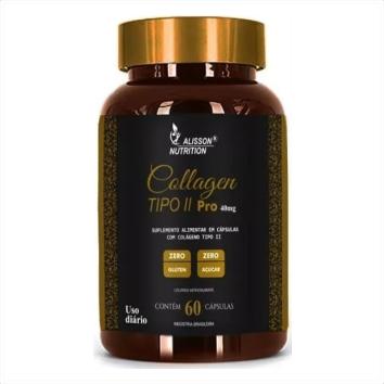 COLLAGEN TIPO II PRO 40MG ALISSON NUTRITION - 60 CAPS
