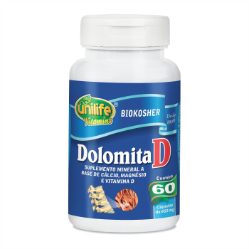 "DOLOMITA ""D"" 950 MG - 60 CAPS"