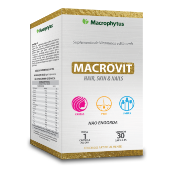 MACROVIT HAIR 30 CAPSULAS