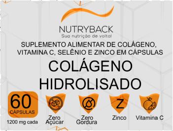 NUTRYBACK COLAGENO HIDROLISADO 1200MG 60CPS