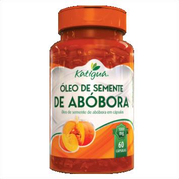 OLEO DE SEMENTE DE ABOBORA 60 CAPS 1000
