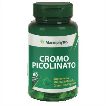 PICOLINATO CROMO 400MG 60CPS MACROPHYTUS