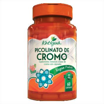 PICOLINATO DE CROMO 60 CAPS 400MG