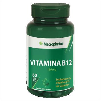 VITAMINA B12 (COBALAMINA) 150MG 60CPS MACROPHYTUS