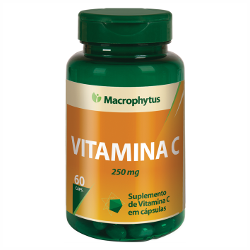 VITAMINA C 250 MG - 60 CAPS MACROPHYTUS