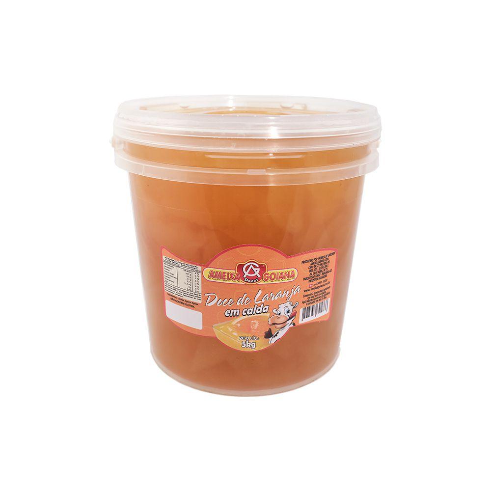 Doce de laranja em calda 5kg