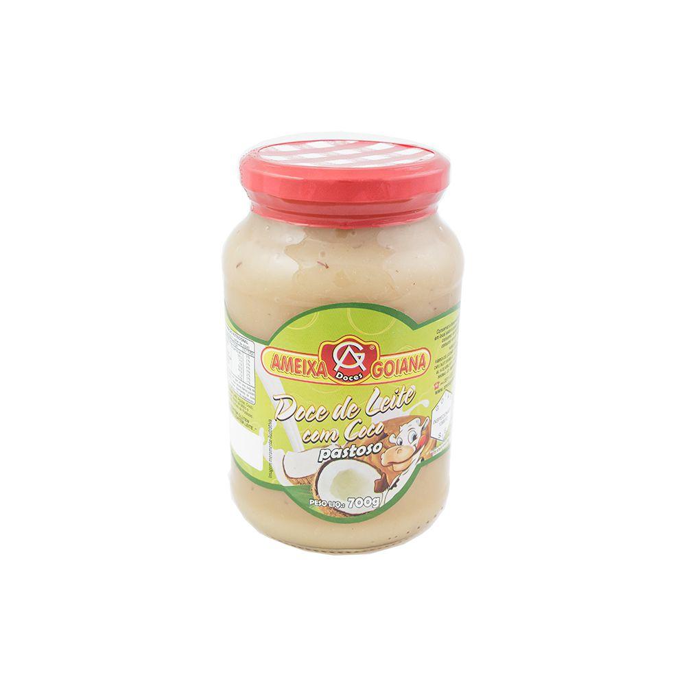 Doce de leite com coco 700g