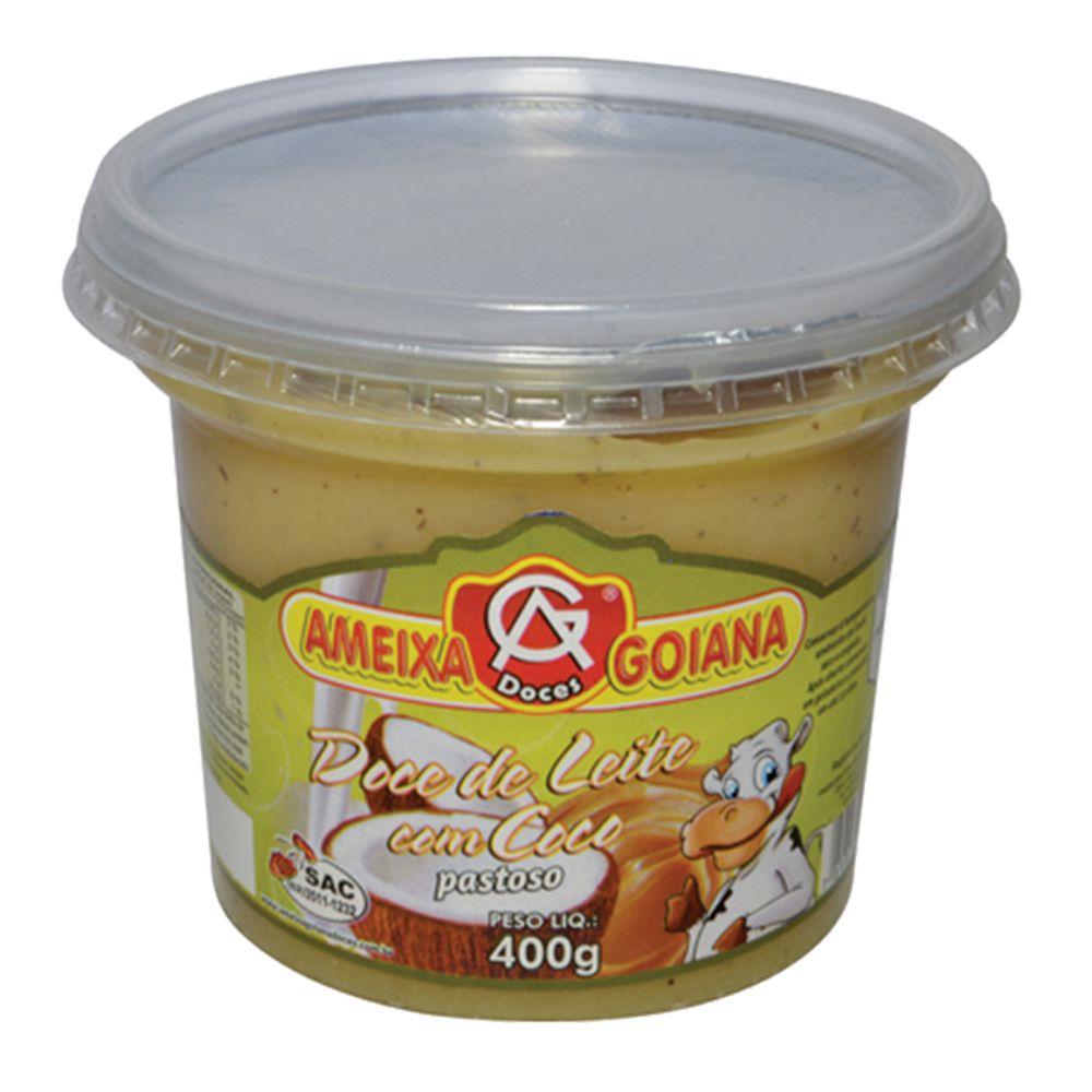 Doce de leite com coco pastoso 400g