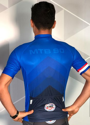 Camisa de ciclismo SPORT (Blue Diamond)