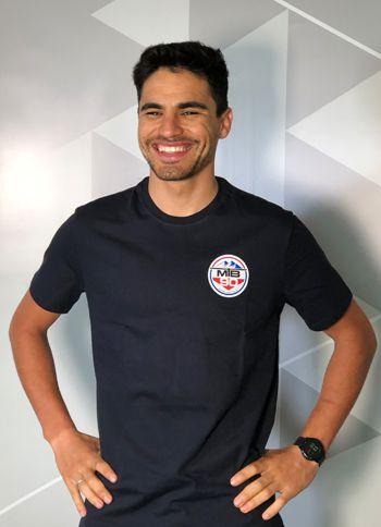 Camiseta Casual MTB90 Azul (Hering)