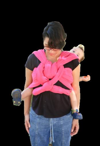 WrapSling Rosa Chiclete