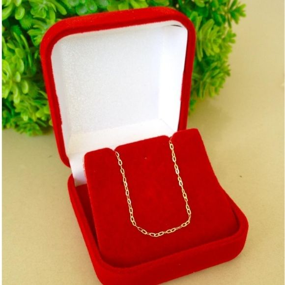 Corrente Cartier Em Ouro 18k com Cm Fina