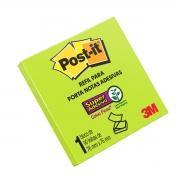 Bloco Post-it 654 76x76 Verde Neon 90 Folhas 3m