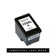Cartucho Compatível 122 122xl Preto para HP 2000 2050 3050