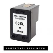Cartucho Compatível HP 60XL 60 Preto C4795 C4680 D410