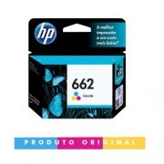 Cartucho Compatível HP 662 Colorido Original