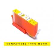 Cartucho Compatível HP 670XL 670 Yellow Deskjet 4615 5525