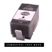 Cartucho de Tinta Compatível com HP 920XL 920 Preto