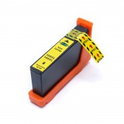 Cartucho de Tinta Compatível com Lexmark 100XL Amarelo 14N1071 Pro-905 Pro-805 Pro-705 205