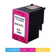 Cartucho HP 662XL 662 Colorido Compatível