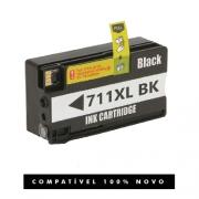 Cartucho Hp 711xl 711 Black Compatível